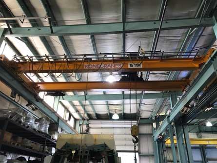 kone-15-ton-overhead-crane
